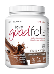 Love Good Fats Shake Chocolate 400 g