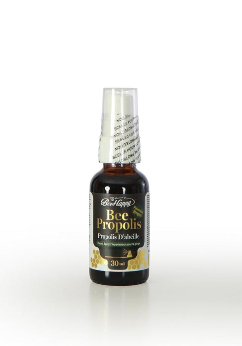 Bee Happy Bee Propolis Throat Spray with 20mg Flavonoids