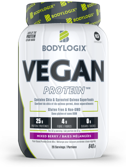 Bodylogix Vegan Protein Mixed Berry 840 g