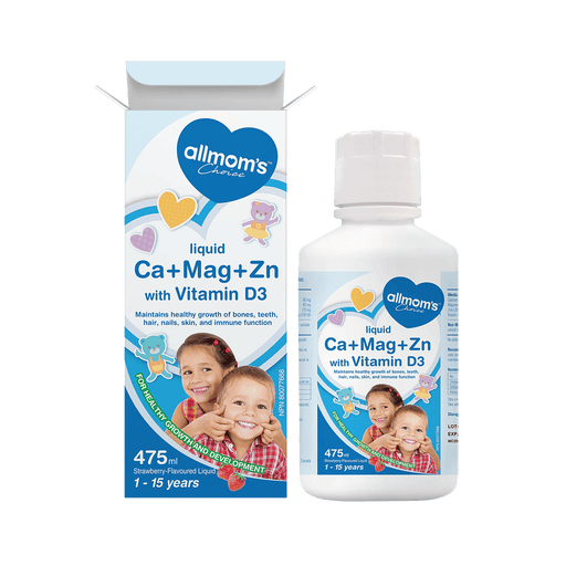 Allmom's Choice Ca + Mg+ Zn With Vitamin D3