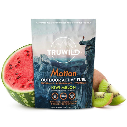 Truwild Motion Natural Energy Kiwi Melon 20 Servings