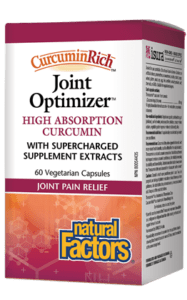 Natural Factors Curcumin Rich Joint Optimizer Vegetarian Capsules
