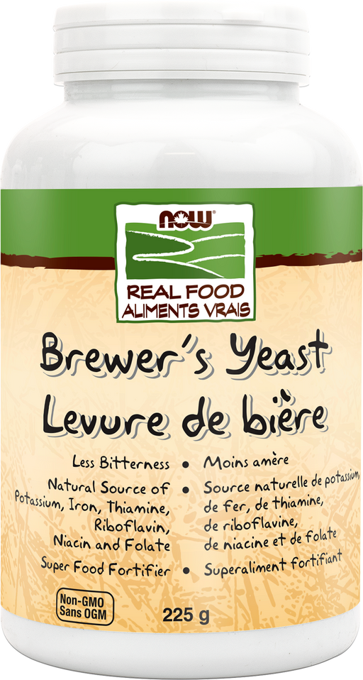 Now Brewer's Yeast Powder 225 g Debittered