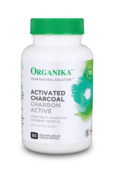 Organika Activated Charcoal 90 Capsules