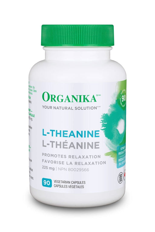 Organika L-THEANINE 225MG 90 Capsules