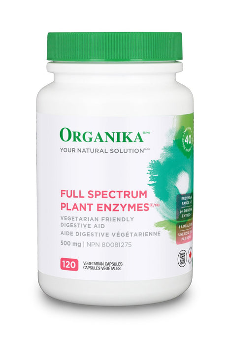 Organika FULL SPECTRUM PLANT ENZYMES 500MG