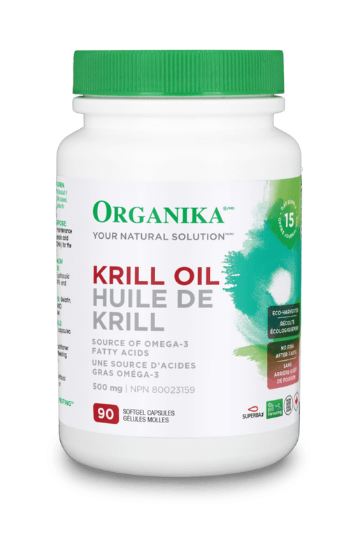 Organika KRILL OIL 500MG 90 Softgels