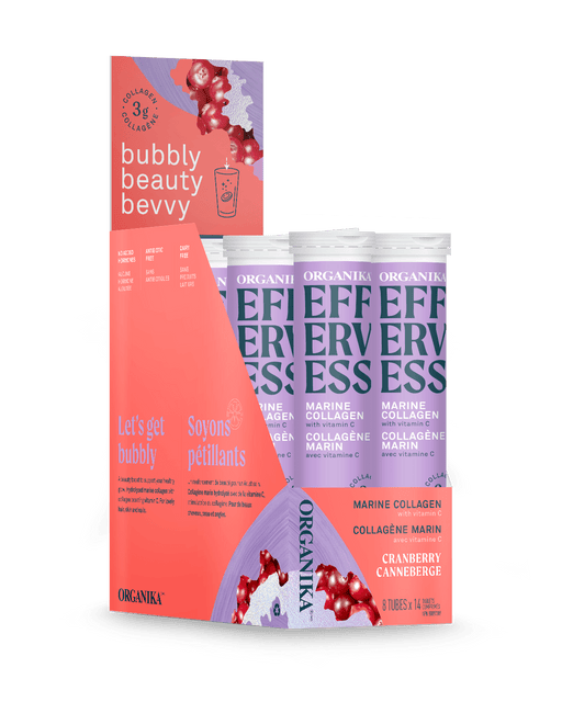 Organika Effervess Cranberry 8x14 Tablets