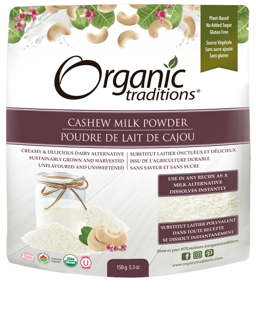 Organic Traditions Cashew Milk Powder