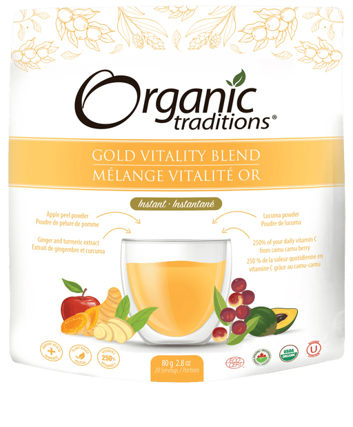 Organic Traditions Gold Vitality Blend