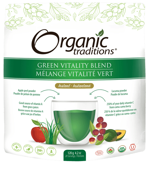 Organic Traditions Green Vitality Blend