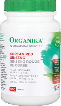 Organika Korean Red Ginseng 100 Capsules