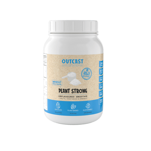Outcast Plant Strong Protein Powder Unflavored 2LB