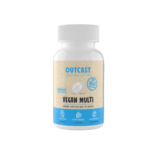 Outcast Vegan Multi 30-count Tablets