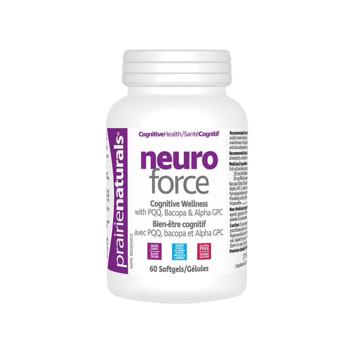 Prairie Naturals Neuro-Force™ 60 Softgels