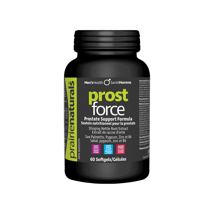 Prairie Naturals Prost Force 60 Softgels