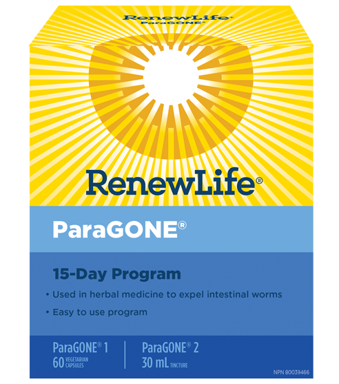 Renew Life ParaGONE Cleansing Kit