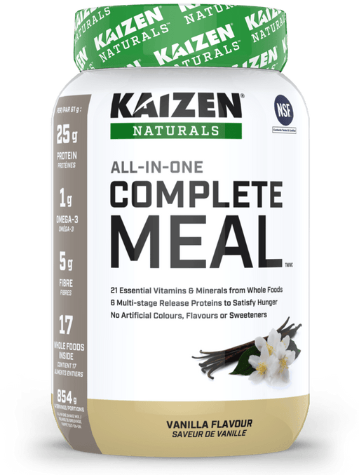 Kaizen Naturals All-In-One Complete Meal Vanilla 854 g