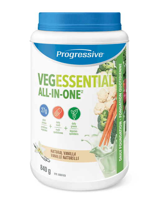 Progressive VegEssential All in One - Natural Vanilla