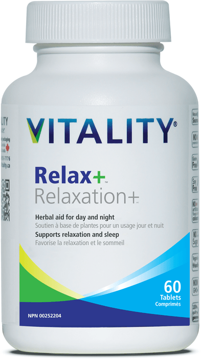 Vitality Relax+ 60 Tablets