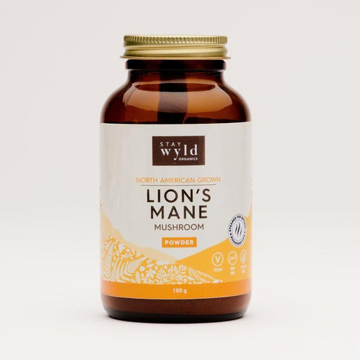 Stay Wyld Lion's Mane Mushroom Powder