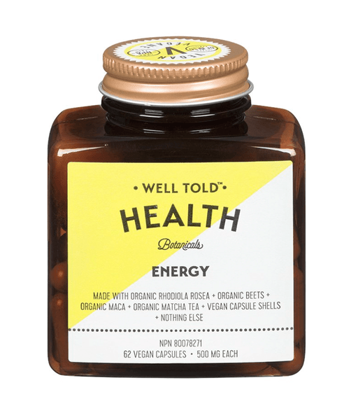 Well Told Health Energy 500 mg 62 V-Caps