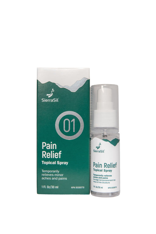 SierraSil Pain Relief Topical Spray 30 ml (Short Dated)