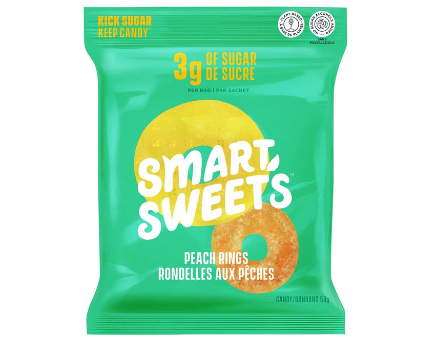 SmartSweets Peach Rings Single Pack