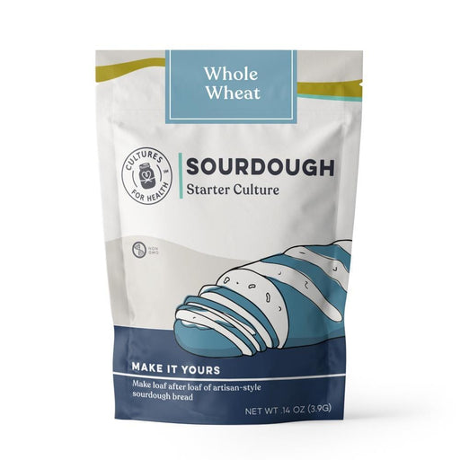Cultures For Health Whole Wheat Sourdough Bread