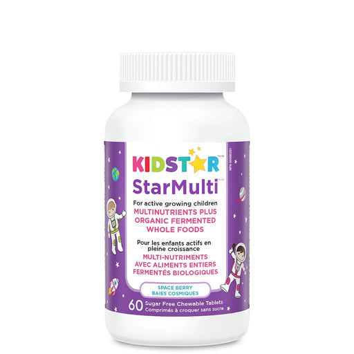 KidStar Nutrients StarMulti Multinutrient Space Berry 60 Chewable Tablets