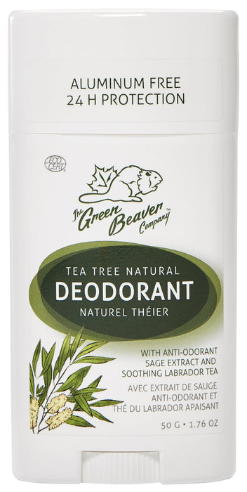Green Beaver Tea Tree Natural Deodorant