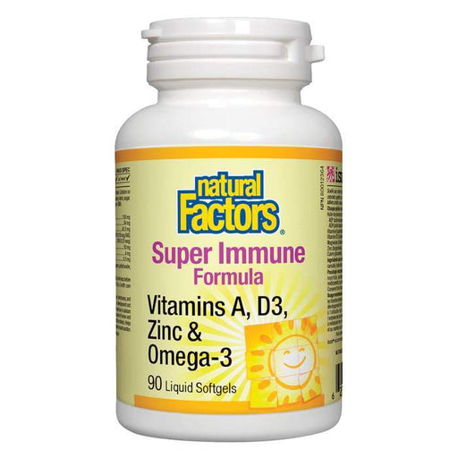 Natural Factors Super Immune Formula Liquid Softgels