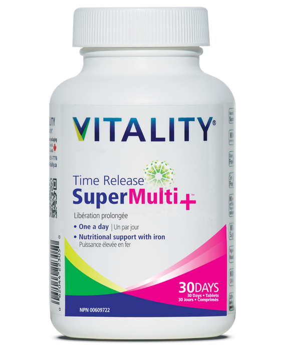 Vitality Time Release Super Multi+ 30 Tablets