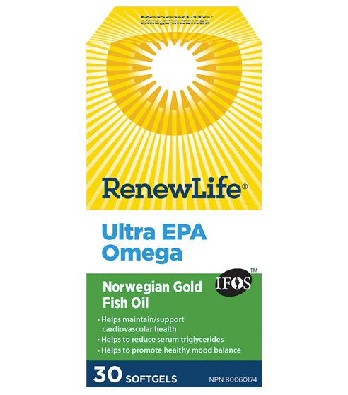 Renew Life Norweigan Gold Ultra EPA 30 Softgels