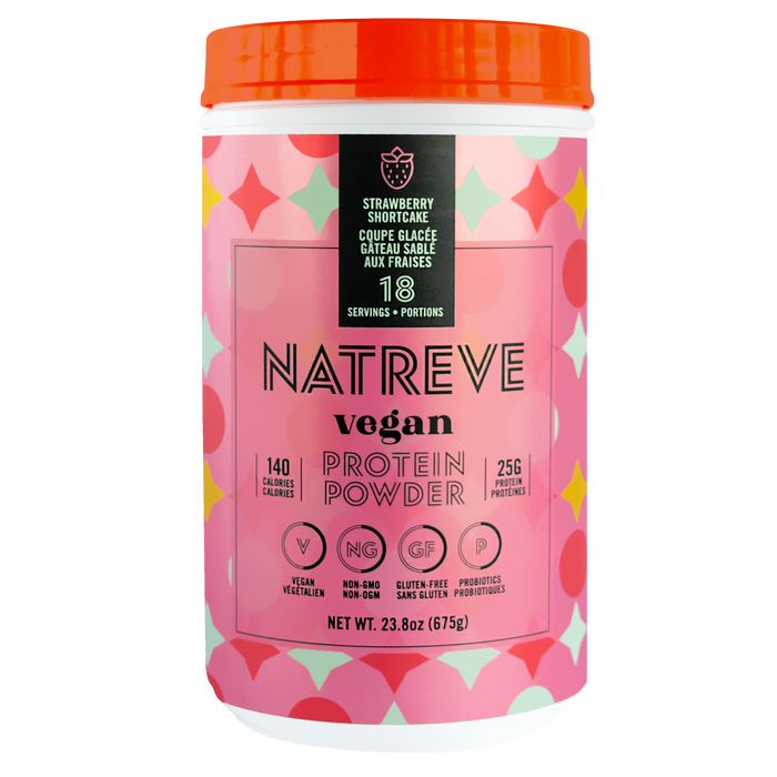 Natreve Vegan Strawberry Shortcake Sundae 675 g