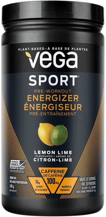 Vega Sport Pre-Workout Energizer - Lemon Lime