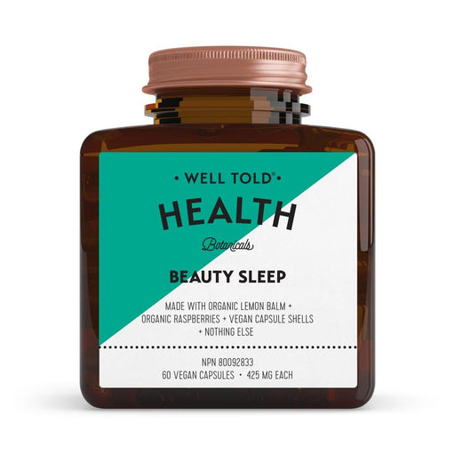 Well Told Health Beauty Sleep 425 mg 60 V-Caps