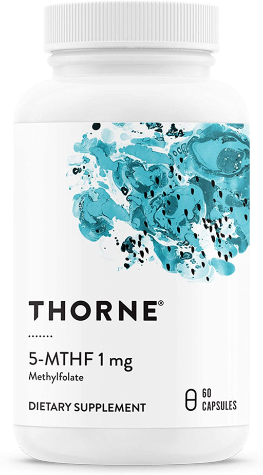 Thorne Research 5-MTHF 1 MG (5-Methyltetrahydrofolate)