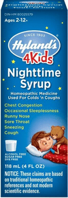 Hyland's Night Time Cold n Cough 4 Kids 4 oz
