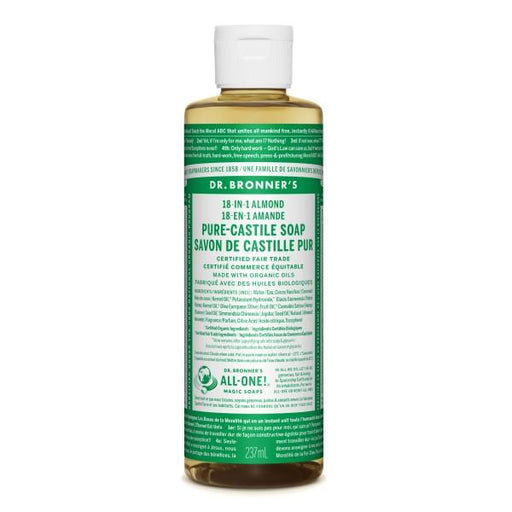Dr. Bronner's Almond Liquid Soap 237 mL