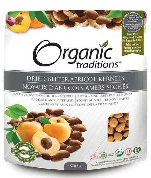 Organic Traditions Dried Bitter Apricot Kernels