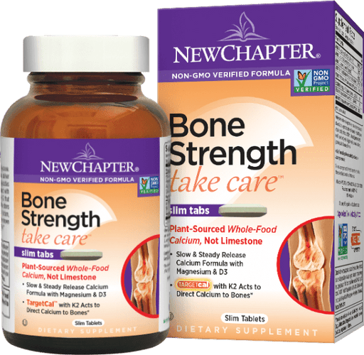 New Chapter Bone Strength Take Care Bonus Size 144 Tablets