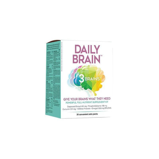 3 Brains Daily Brain