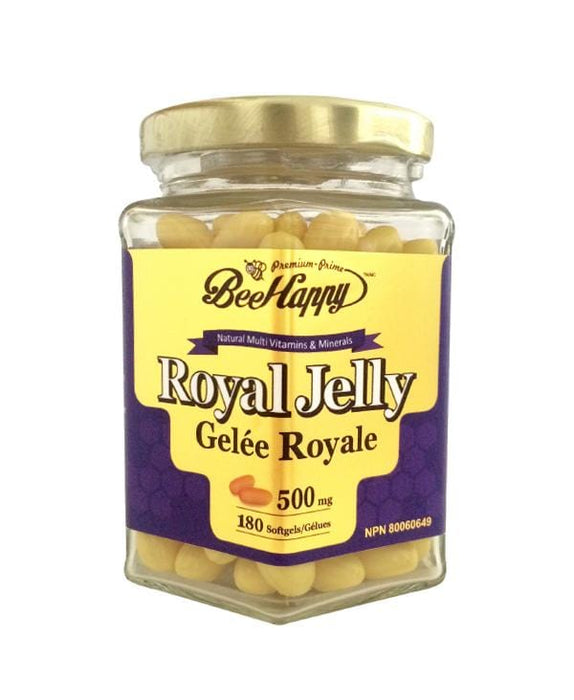 Bee Happy Royal Jelly 500 mg 180 Softgels