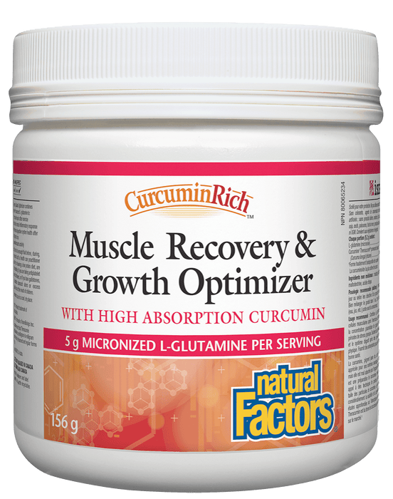 Natural Factors Curcumin Rich Muscle Recovery & Growth Optimizer