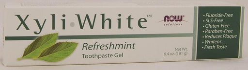 NOW Xyli White Refreshmint Toothpaste