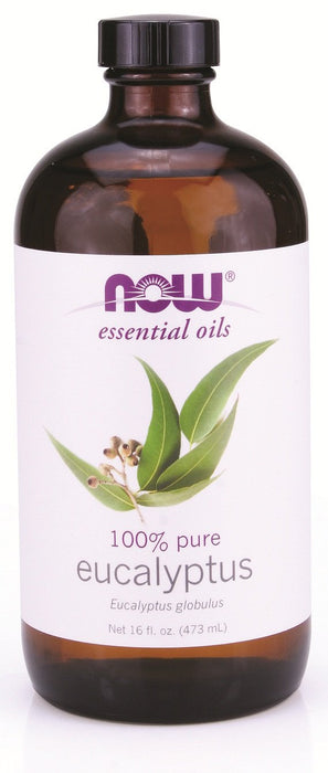 NOW Eucalyptus Oil (Eucalyptus globulus) 473 mL