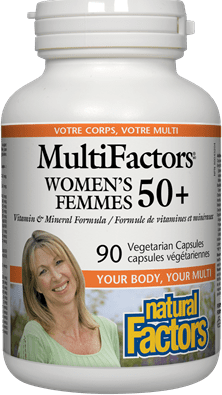 Natural Factors MultiFactors Women's 50+