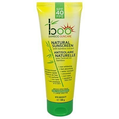 Boo Bamboo Natural Sunscreen SPF 40