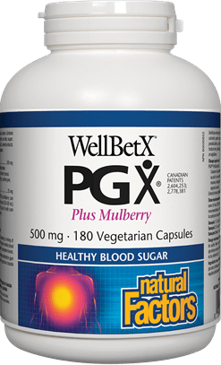 Natural Factors WellBetX PGX with Mulberry